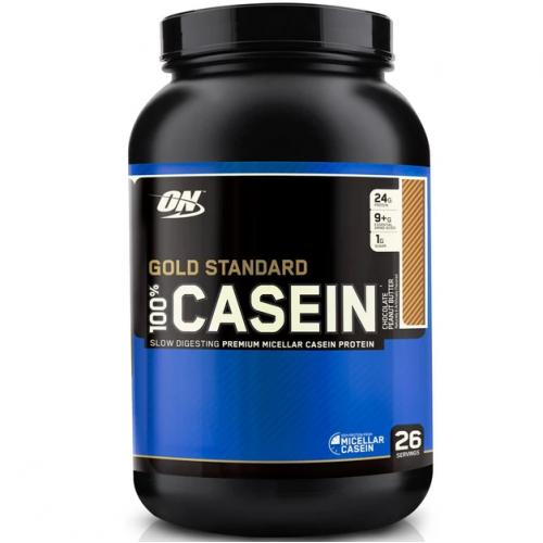 Протеин Optimum Nutrition 100% Casein Gold Standard, 909 г - Шоколадная арахисовая паста