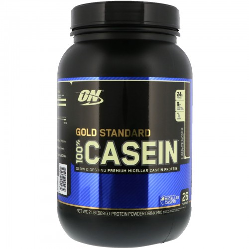 Протеин Optimum Nutrition 100% Casein Gold Standard, 909 г - Шоколадный крем