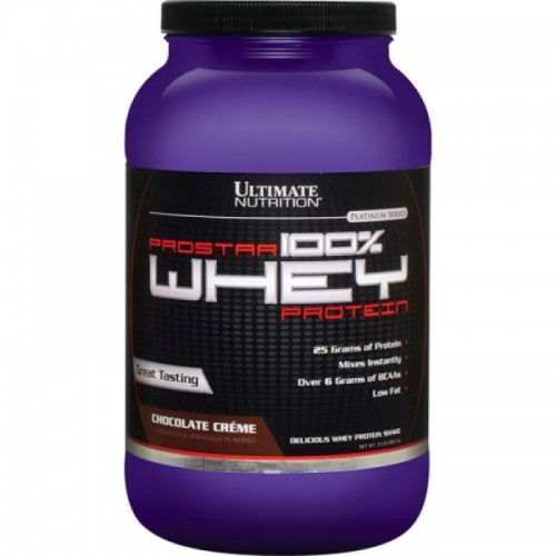 Протеин Ultimate Nutrition Prostar Whey Protein, 907 г - Шоколад