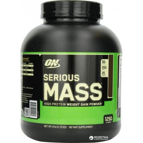 Гейнер Optimum Nutrition Serious Mass 2.72 кг - Шоколад