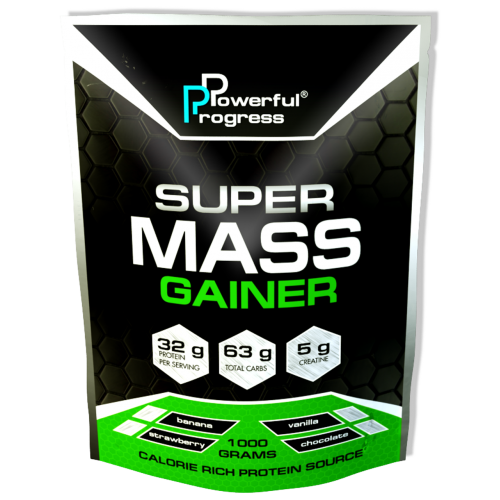 Super Mass Gainer, 1 кг - Лесные ягоды