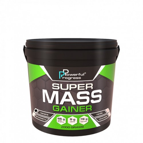 Super Mass Gainer, 2 кг - Банан
