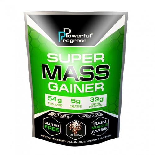 Super Mass Gainer, 2 кг - Мороженое