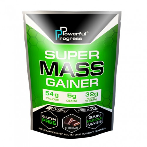 Super Mass Gainer, 2 кг - Шоколад