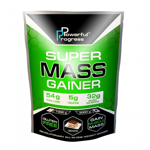Super Mass Gainer, 2 кг - Тирамису