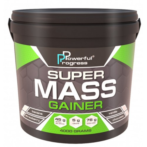 Super Mass Gainer, 4 кг - Капучино