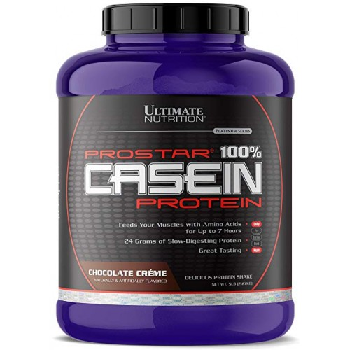Ultimate Prostar 100% Casein Protein, 2270 г - Шоколад