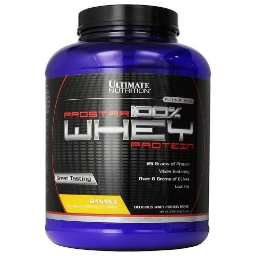 Ultimate Prostar Whey Protein, 2390 г - Банан