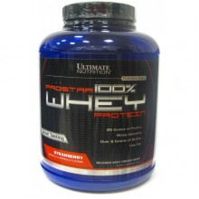 Ultimate Prostar Whey Protein, 2390 г - Клубника