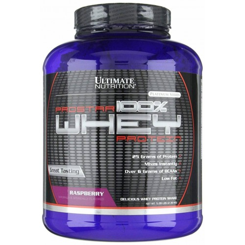 Ultimate Prostar Whey Protein, 2390 г - Малина