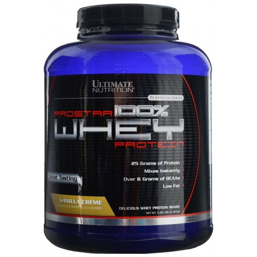 Ultimate Prostar Whey Protein, 2390 г - Ваниль