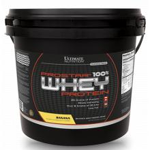 Ultimate Prostar Whey Protein, 4540 г - Банан