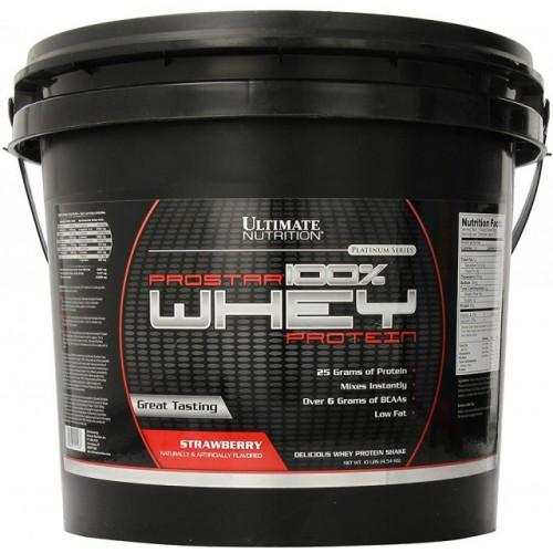 Ultimate Prostar Whey Protein, 4540 г - Клубника