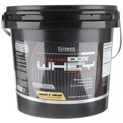 Ultimate Prostar Whey Protein, 4540 г - Печенье с кремом