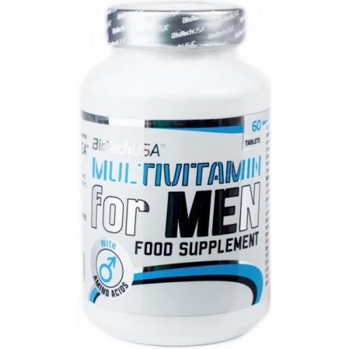 Витамины BioTech (USA) Multivitamin for Men 60таб