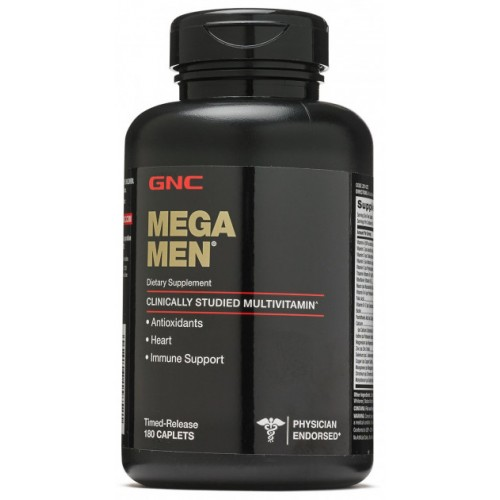 Витамины GNC Mega Men 180 капсул