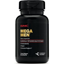 Витамины GNC Mega Men 90 капсул