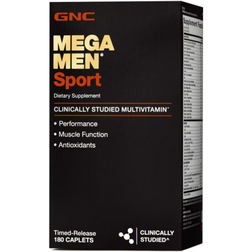 Витамины GNC Mega Men Sport 180 капсул