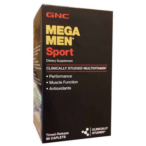 Витамины GNC Mega Men Sport 90 капсул