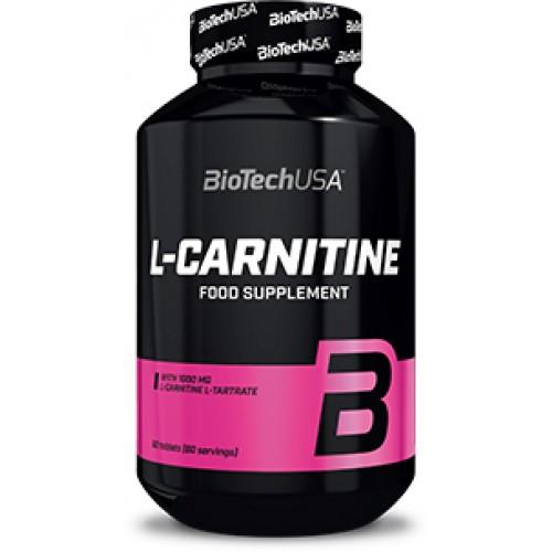 Жиросжигатель Biotech L-Carnitine 1000 mg 60 таблеток