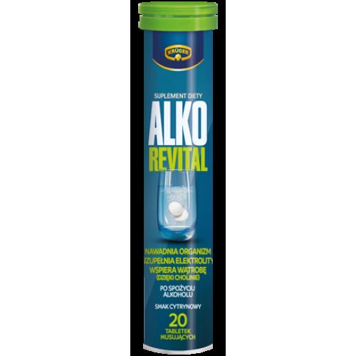 Kruger Alko Revital - 20 таблеток