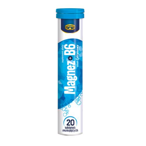 Kruger Magnez + B6 - 20 таблеток