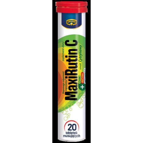 Kruger MaxiRutin C + Zink - 20 таблеток