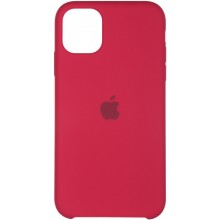 Панель Silicone Case для Apple iPhone 11 Pro - Rose Red