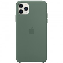 Панель Silicone Case для Apple iPhone 11 Pro - Pine Green